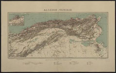 Algérie. Tunisie