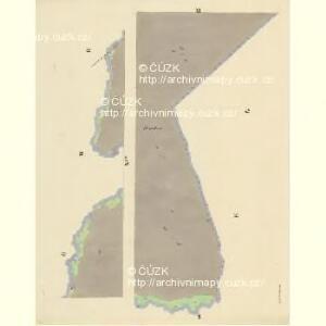 Lischnitz - c4143-1-010 - Kaiserpflichtexemplar der Landkarten des stabilen Katasters