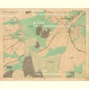 Kirchschlag - c7621-1-006 - Kaiserpflichtexemplar der Landkarten des stabilen Katasters