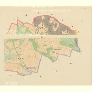 Maniowitz (Manowic) - c4472-1-001 - Kaiserpflichtexemplar der Landkarten des stabilen Katasters