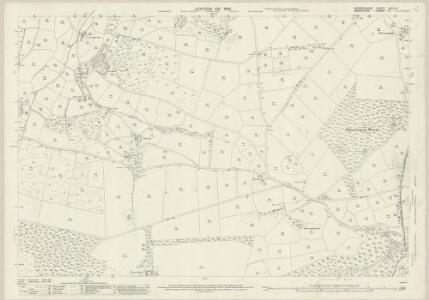 Denbighshire XXXIX.16 (includes: Glyntraean; Selattyn; Weston Rhyn) - 25 Inch Map