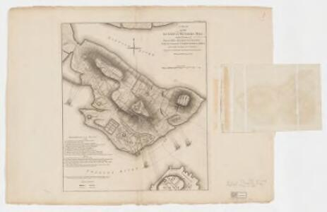 A plan of the action at Bunkers Hill on the 17th of June 1775 between His Majesty's troops, under the command of Major General Howe, and the American forces (without overlay)