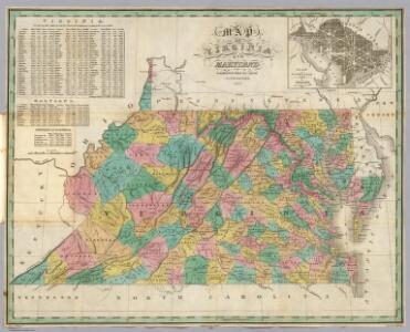 Virginia, Maryland, Washington D.C.