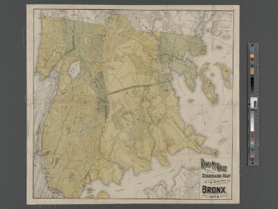 New Standard map of the Borough of Bronx.