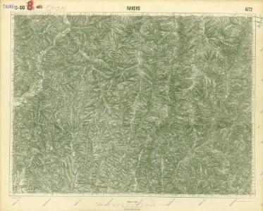 III. vojenské mapování 4772