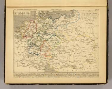 L'Allemagne, l'Autriche, la Prusse et la Pologne 1612 a 1788.