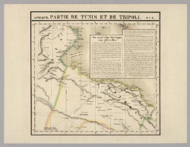 Partie, Tunis et Tripoli. Afrique 3.