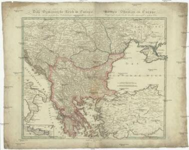 Das Osmanische Reich in Europa