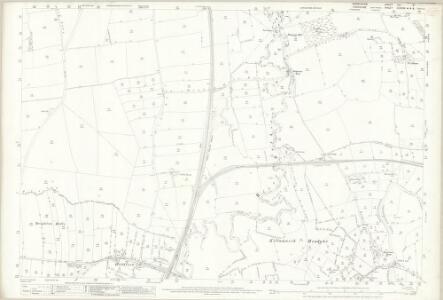 Derbyshire XIII.9 (includes: Beighton; Eckington; Killamarsh; Wales) - 25 Inch Map