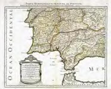 Partie meridionale du royaume de Portugal, partie des royaumes de Castille nouvelle, de Andalousie et de Grenade