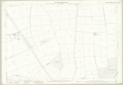Huntingdonshire V.6 (includes: Alwalton; Chesterton; Haddon; Orton Longueville; Orton Waterville) - 25 Inch Map