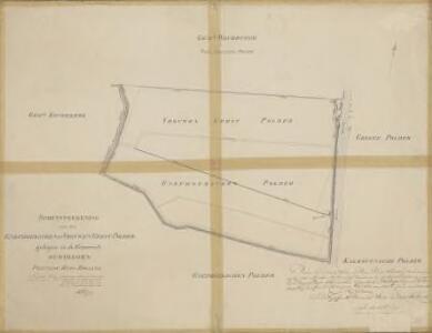 Polder Vrouwgeest, gemeente Oudshoorn, Alphen a/d Rijn, Woubrugge en Koudekerk a/d Rijn.