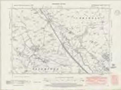 Staffordshire XXXVII.NW - OS Six-Inch Map