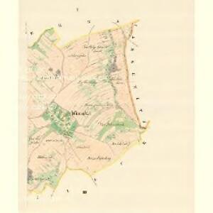 Wisoka - m3513-1-001 - Kaiserpflichtexemplar der Landkarten des stabilen Katasters