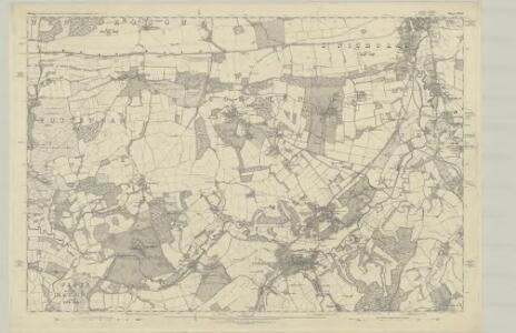 Surrey XXXI - OS Six-Inch Map