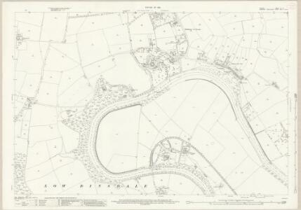 Durham LV.16 (includes: Low Dinsdale; Middleton St George; Neasham; Over Dinsdale) - 25 Inch Map