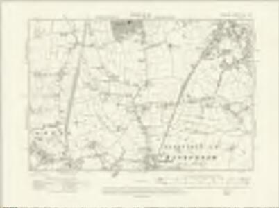 Cheshire XIX.SW - OS Six-Inch Map