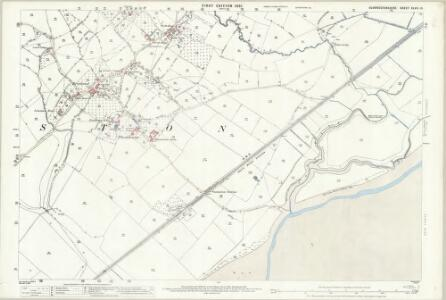 Gloucestershire XLVII.13 (includes: Alvington; Aylburton; Woolaston) - 25 Inch Map