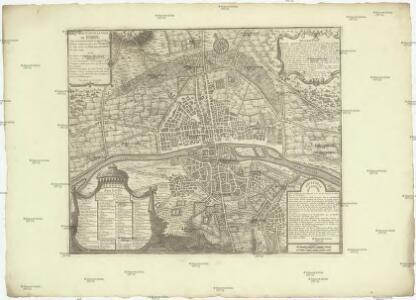 Cinquieme plan de la ville de Paris