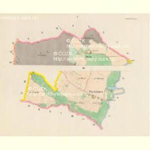 Smrschowitz (Smržowice) - c7097-1-001 - Kaiserpflichtexemplar der Landkarten des stabilen Katasters