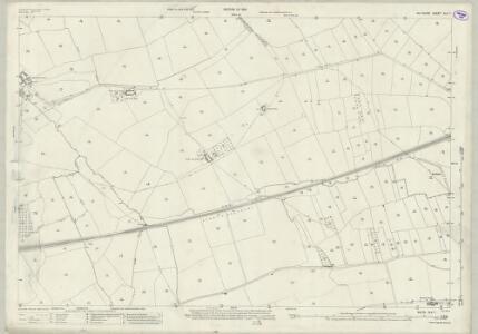Wiltshire XLV.1 (includes: Bratton; Edington; Heywood; West Ashton; Westbury) - 25 Inch Map