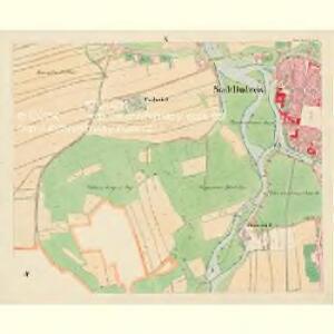 Budweis - c0964-1-010 - Kaiserpflichtexemplar der Landkarten des stabilen Katasters