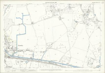 Middlesex XIV.12 (includes: Uxbridge; Yiewsley and West Drayton) - 25 Inch Map