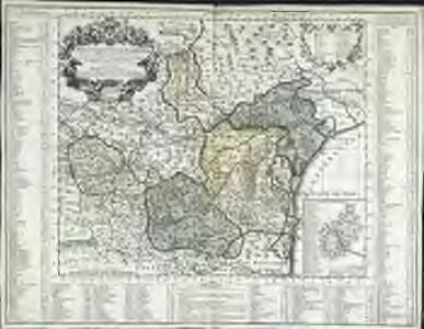 Carte du diocese de Narbonne