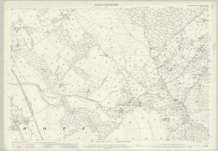 Gloucestershire XXIV.9 (includes: Huntley; Longhope; Newent; Taynton) - 25 Inch Map