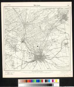 Meßtischblatt 2367 : Paderborn, 1913