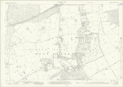 Surrey XXIV.10 (includes: East Clandon; Send; West Clandon) - 25 Inch Map