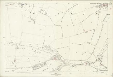 Gloucestershire XXVIII.1 (includes: Guiting Power; Hawling; Naunton) - 25 Inch Map