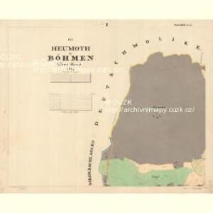 Heumoth - c6808-1-001 - Kaiserpflichtexemplar der Landkarten des stabilen Katasters