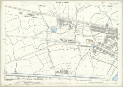 London (Edition of 1894-96) LXVII (includes: Barking; Borough Of Woolwich; East Ham) - 25 Inch Map
