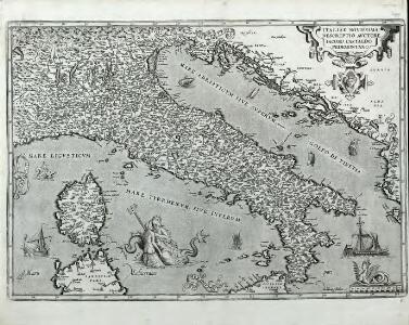 Italiae Novissima Descriptio