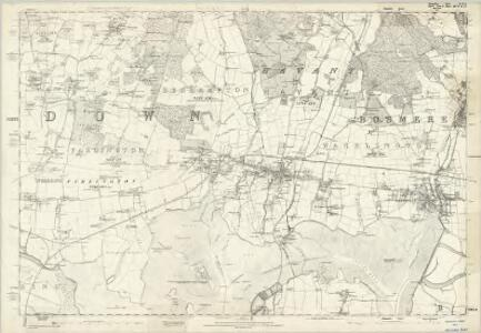 Hampshire & Isle of Wight LXXVI - OS Six-Inch Map