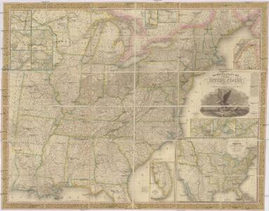 Mitchell's reference & distance map of the United States