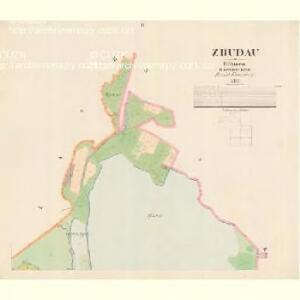 Zbudau - c9193-1-002 - Kaiserpflichtexemplar der Landkarten des stabilen Katasters