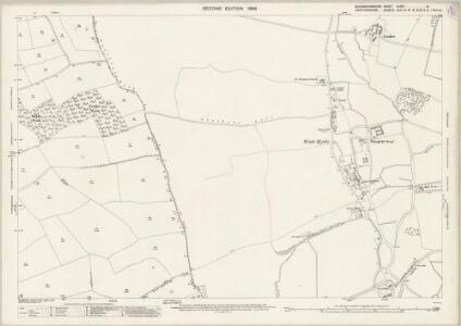 Buckinghamshire XLVIII.8 (includes: Chalfont St Peter; Gerrards Cross; Rickmansworth Urban) - 25 Inch Map
