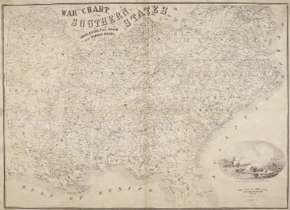 War Chart of the Southern States.