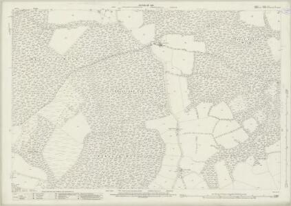 Surrey XLV.12 (includes: Dunsfold; Plaistow) - 25 Inch Map