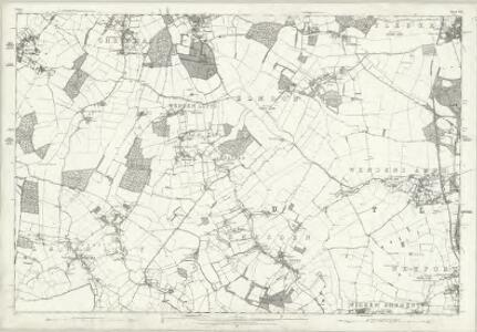 Cheshire LXV - OS Six-Inch Map