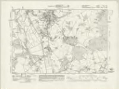 Hertfordshire XLVII.NE - OS Six-Inch Map