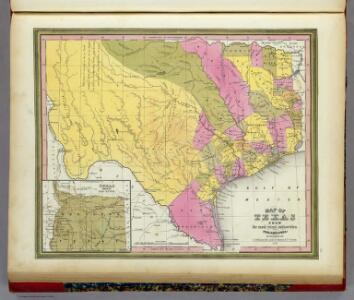 Map Of Texas.