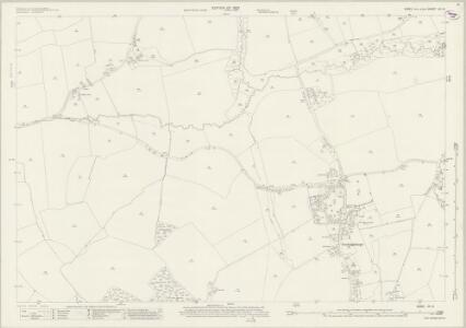 Essex (New Series 1913-) n X.15 (includes: Belchamp Walter; Gestingthorpe) - 25 Inch Map