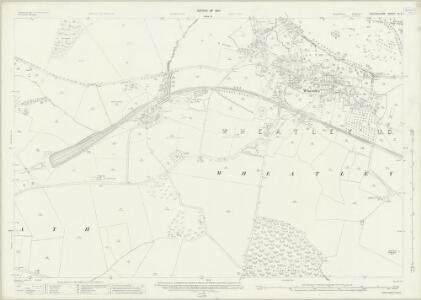 Oxfordshire XL.2 (includes: Cuddesdon; Forest Hill with Shotover; Holton; Horspath; Wheatley) - 25 Inch Map