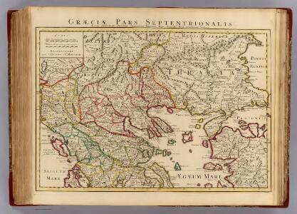 Graeciae pars Septentrionalis.