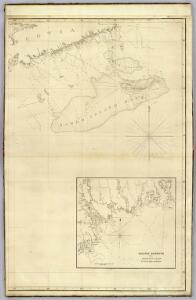 The north eastern coast, North America, New York to Cape Canso (east sheet)
