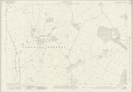 Derbyshire XLVII.16 (includes: Doveridge; Somersal Herbert; Sudbury) - 25 Inch Map
