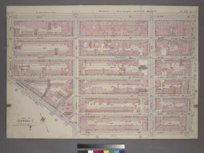 Plate 32, Part of Section 2: [Bounded by W. 14th Street, E. 14th Street, University Place, E. 8th Street, W. 8th Street, Greenwich Avenue and Seventh Avenue.]